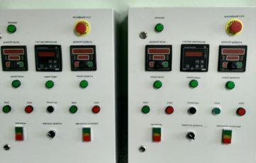 Шкаф управления полуавтоматическим дозированием